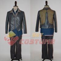 The Walking Dead Daryl Dixon Outfit Wings Jacket+Pants+Sheath+Shirt+Vest Adult Men Costumes Halloween Cosplay Costume Full Set