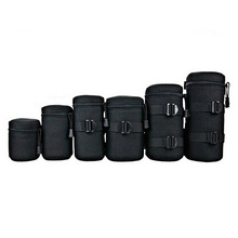1pcs Brand New Camera Lens Bag Protective cover Width 8cm Height 9.5cm Waterproof Shockproof Soft Pouch