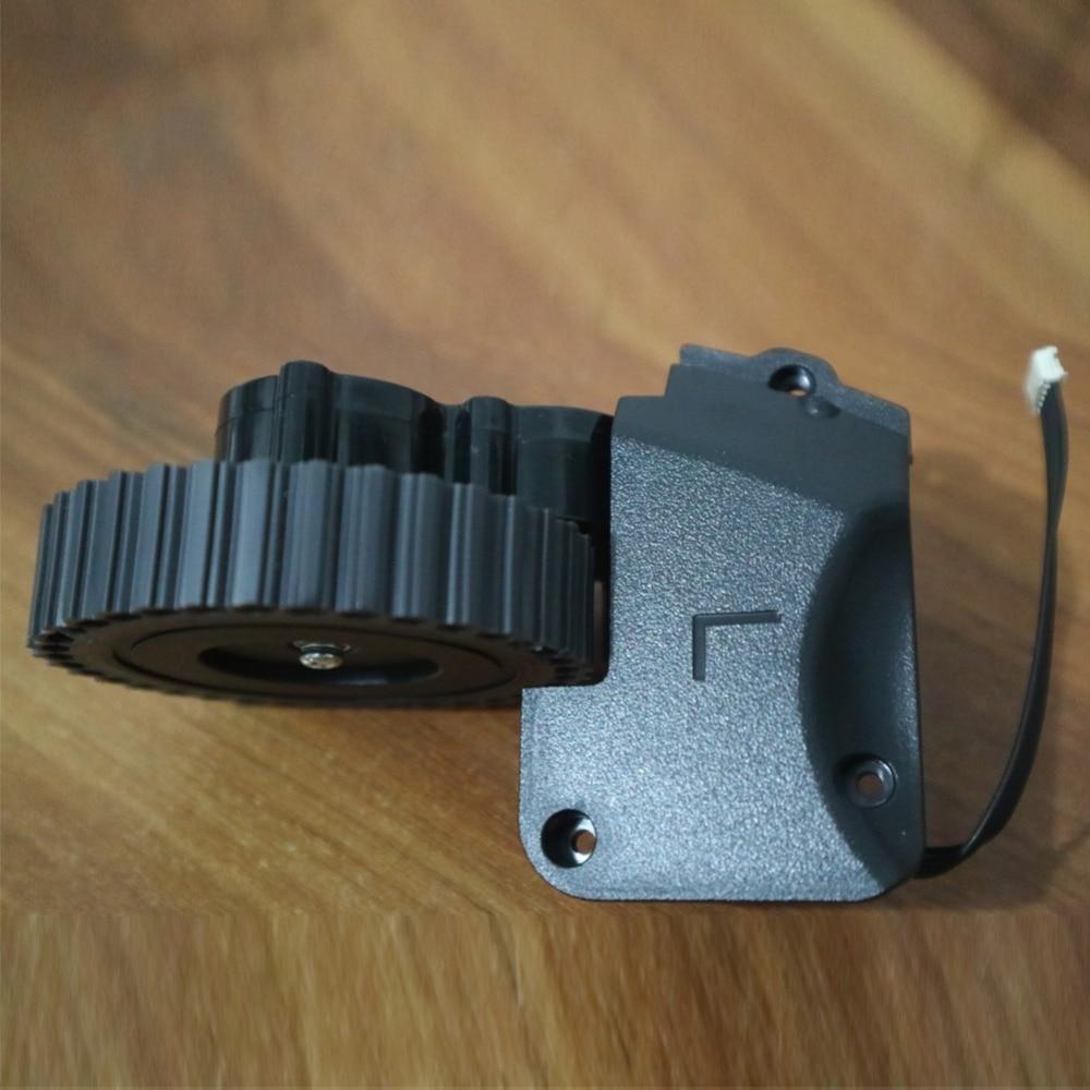 Roda esquerda robot vacuum cleaner acessórios Peças Para ilife A4 A4s A40 A8 T4 X430 X432 X431 robô Aspirador de pó rodas motores