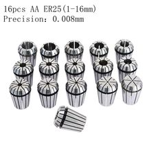 14pcs AA class ER25 high precision chuck engraving machine CNC machine tool accessories 246 8 10 12 14 16 precision 0.008 mm q and q m146 j001