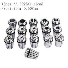 14pcs AA class ER25 high precision chuck engraving machine CNC tool accessories 246 8 10 12 14 16 0.008 mm