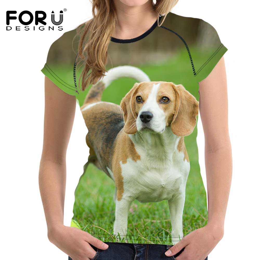 Pet Animal Designs Beagle Pattern Print Sneakers for Women