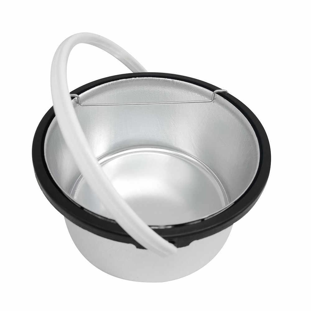 2018 Sıcak Balmumu Yaz Epilasyon Sıcak Parafin ağda ısıtıcı Isıtıcı Pot Makinesi Tüy Dökücü Sert Wax Bean Seti AB Tak Lavanta