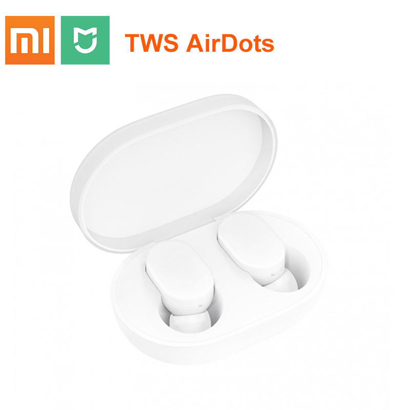2018 Newest 100% Original Xiaomi MIjia Airdots TWS Bluetooth Earphone Youth Version Touch