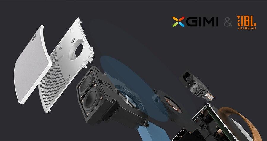 XGIMI CC Aurora Mini Портативный DLP-проектор Домашний кинотеатр Android Wifi 3D Поддержка 4K HD-видео с батареей