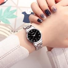 XIAOYA New Fashion Women Wrist Watches Stainless Steel Band Luxury Quartz Watch Women Casual Female Clock Montre Femme 2019 стоимость