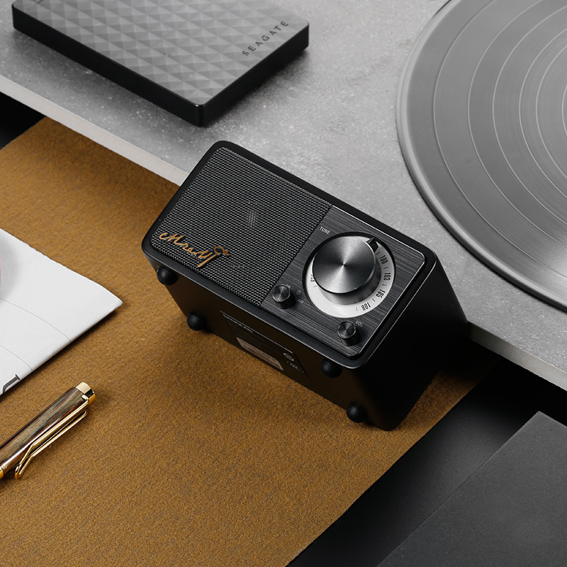 SANGEAN MOZART Alta qualidade mini bluetooth wireless speaker locutor de rádio Frete grátis - 3