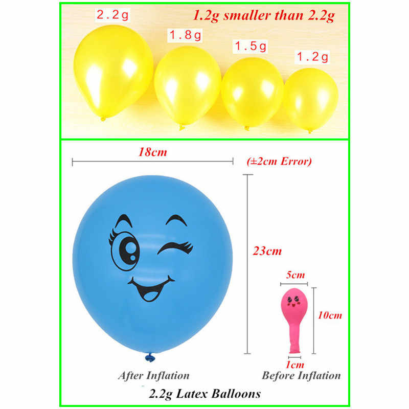 5pcs 2.2g 12 inch Heart Balloons Latex Inflatable White Pink Love Ball For Home Wedding Party Decoration Birthday Party Supplies