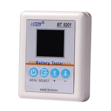Bt5201 Battery Internal Resistance Meter Tester High Precision Easy To Use Battery Maintain Tool With With Led Display