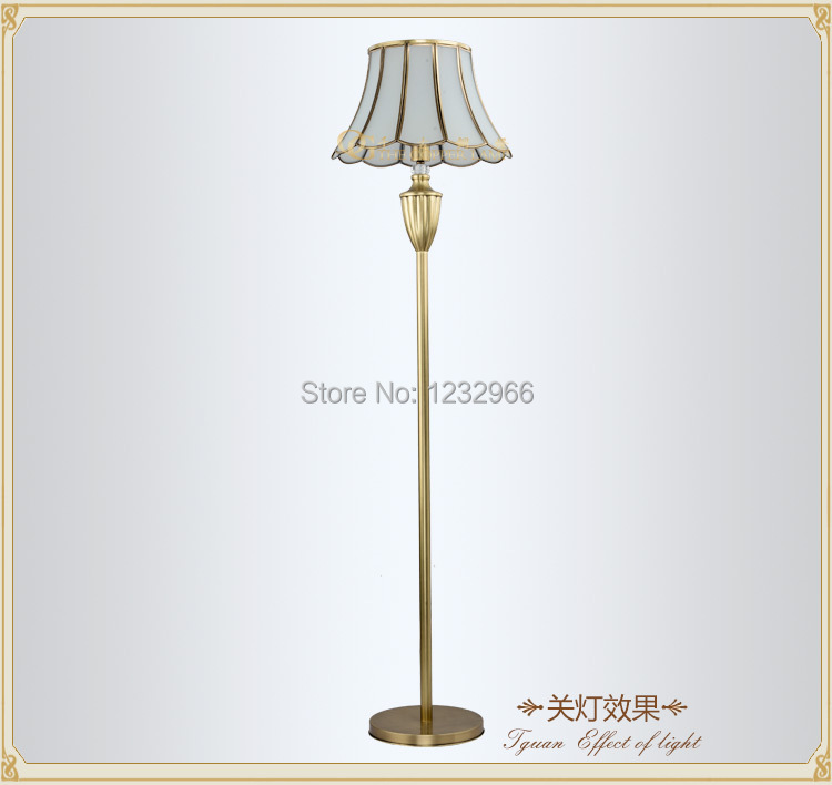 Luxury Copper Floor Lamp Fortuny Moda Floor Lamp Modern Standard Lamp Royal Floor Standard Light
