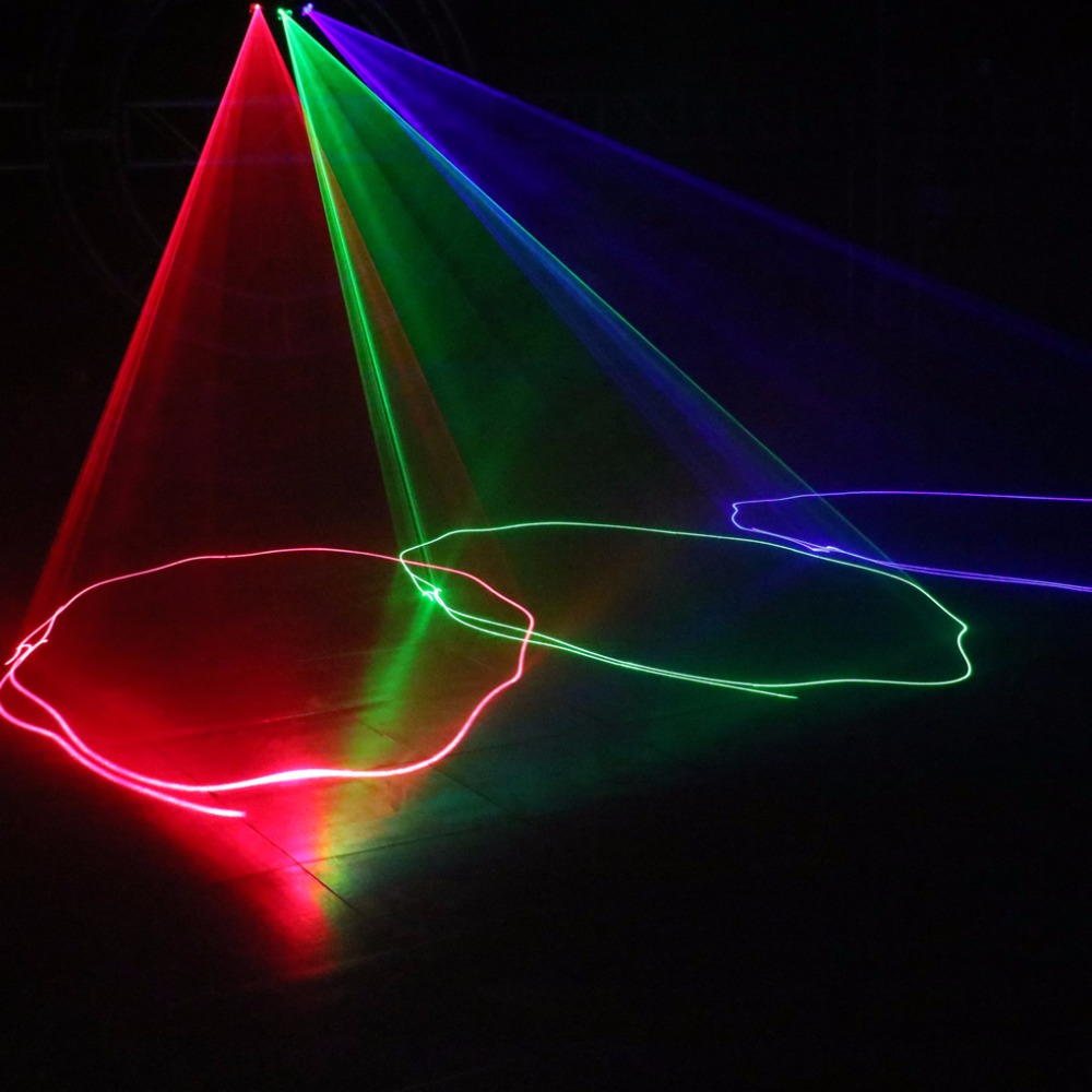 Aucd 3 lente rgb colorfull feixe de