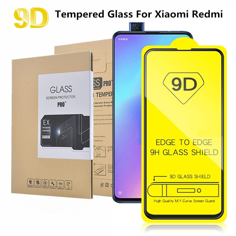 Anti-Scratch-Film 7-Pro tempered-Screen-Protector Note-4 Xiaomi Redmi Full-Cover-Glass