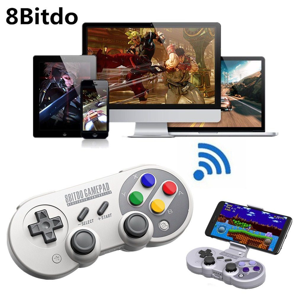 8Bitdo SF30 Pro Gamepad Controller Joystick Wireless Bluetooth Game Controller for Nintendo Switch Windows macOS Android GamPad 8bitdo fc30 pro wireless bluetooth controller dual classic joystick for android gamepad pc mac linux