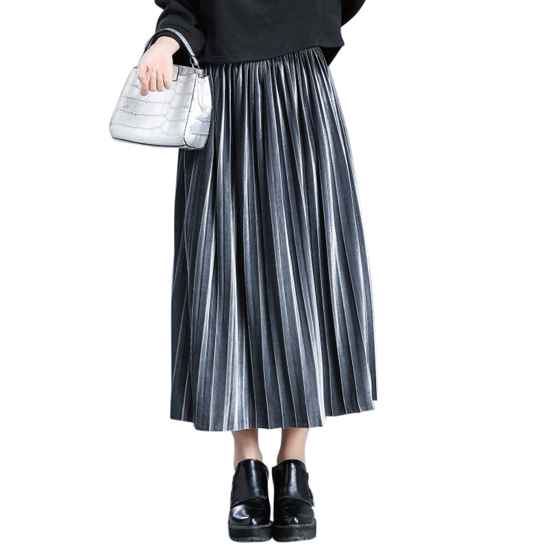 Online Get Cheap Long Metallic Skirt -Aliexpress.com | Alibaba Group