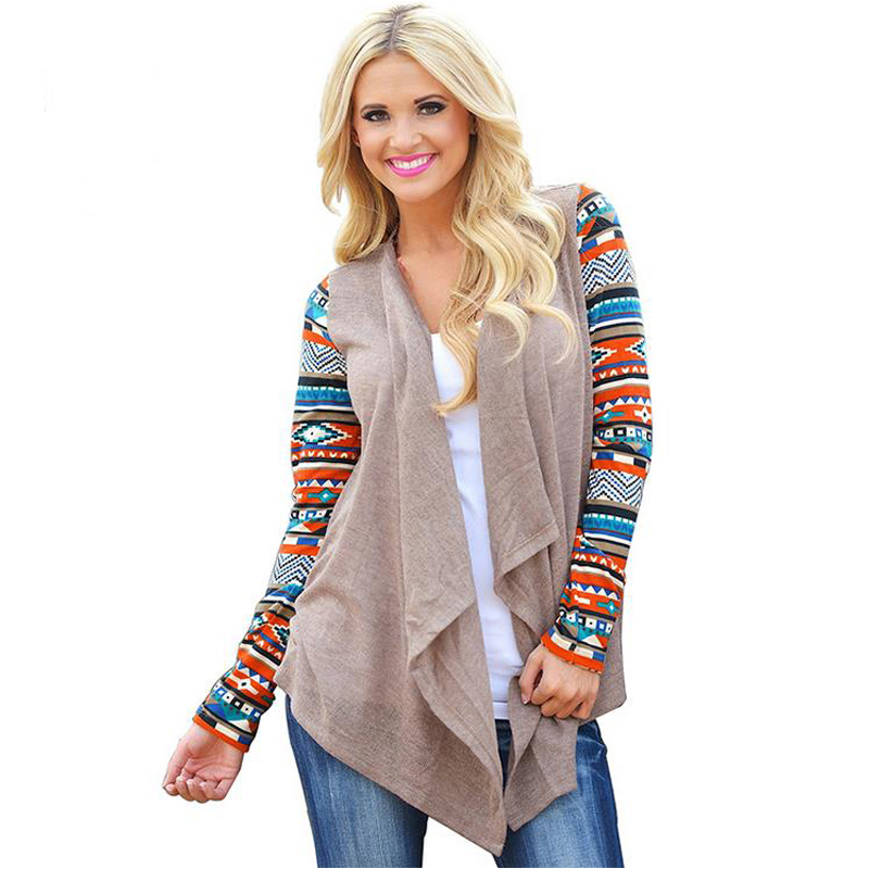 Long Sleeve Striped Tops Women Cardigan Female Asymmetrical Knitted Sweater Casual Cardigans Sweaters Air Conditioning Shirts como vestir con sueter mujer