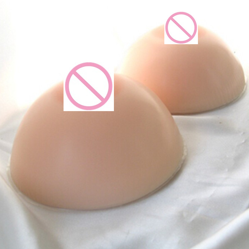 600g/Pair 34B 36A 36B 38A Silicone Breasts Toy Form Rubber Breast Silicone Boobs Fake Products For Shemale Or Transgenders new light weight 34c 36b 38a silicone breast forms for mastectomy fake boobs cosplay