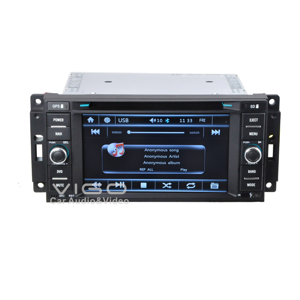 auto stereo gps navigation for jeep wrangler commander grand cherokee unlimited multimedia. Black Bedroom Furniture Sets. Home Design Ideas