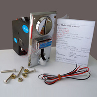 Advanced JY 928 CPU Multi Coins Selector coin Acceptor accept 8 type of coins for Vending Arcade Machine