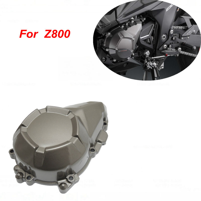 ФОТО For kawasaki Z800 Stator Engine Cover For Kawasaki Z800 2013 2014 Crankcase Motorcycle Accessories