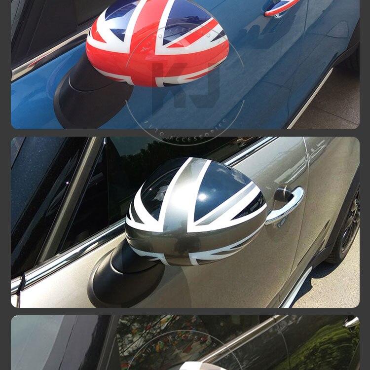 Автомобильный Стайлинг для MINI COOPER R50 R52 R53 боковое зеркало крышка пластиковая крышка 2001-2006 аксессуары(рулевой правый+ левый
