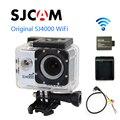Frete grátis!! Original SJCAM SJ4000 WiFi Esporte Action Camera + Extra 1 pcs bateria + Carregador de Bateria + Cabo de Saída AV