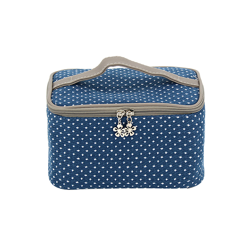 Women's Cosmetic Bag Case Beauty Product Toiletry Makeup Travel Box Waterproof Hangbag Neceser Rushed dsquared2 beauty case