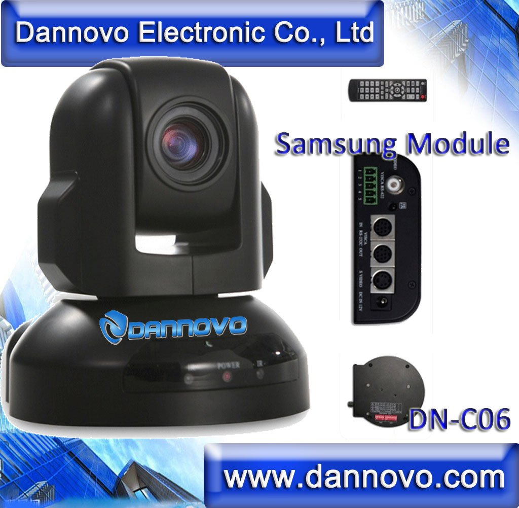 DANNOVO Samsung Module PTZ Video Conference Camera 520TVL PTZ High Speed Dome Camera 10x10 Zoom PTZ Security CCTV Camera System