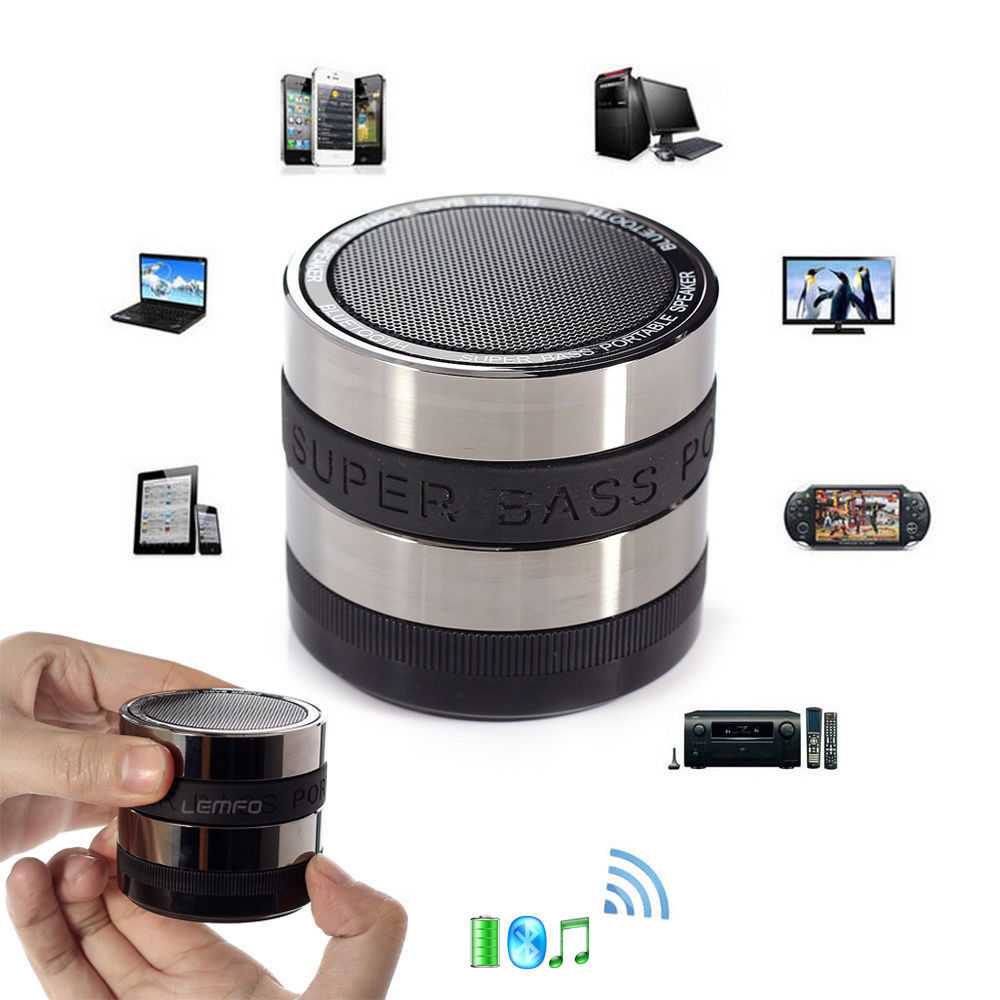 Portable mini bluetooth stereo wireless usb speaker for - Ordinateur portable 1 to ...