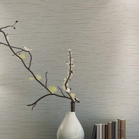 Grasscloth Effect Plain Textured Room Wallpaper Roll Modern Simple Wall Paper For Bedroom Living Room Home Decor Dark Grey