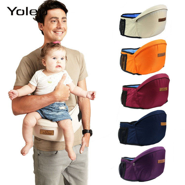 New Arrival Baby Carrier Waist Stool Walkers Baby Sling Hold Waist Belt Backpack Hipseat Belt Kids Infant Hip Seat For Mommy Dad
