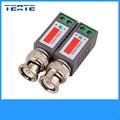 TEATE CCTV Passiva Vídeo Balun BNC para UTP Transceptor Conector com 2X Coax CAT5 para Câmera de Segurança Do Sistema TET-G07CAB