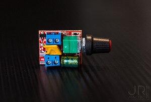 5Pcs Mini Motor DC Ampla Tensão PWM Controlador de Velocidade DC3V 6V 12V 24V 35V 90W 5A LEVOU Dimmer para Luz de Tira CONDUZIDA LEVOU Luz Do Painel