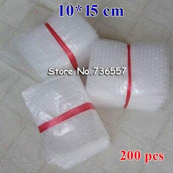 Enveloppe, 50pcs 100 pièces 200 pièces, 100x150mm, emballage à bulles PE, double film, antichoc