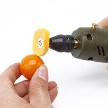 Polijsten Wiel Buffing Pad Borstel Set 10 Stks/set Handvat Sieraden Polijsten Doek Wiel Voor Dremel Accessoires