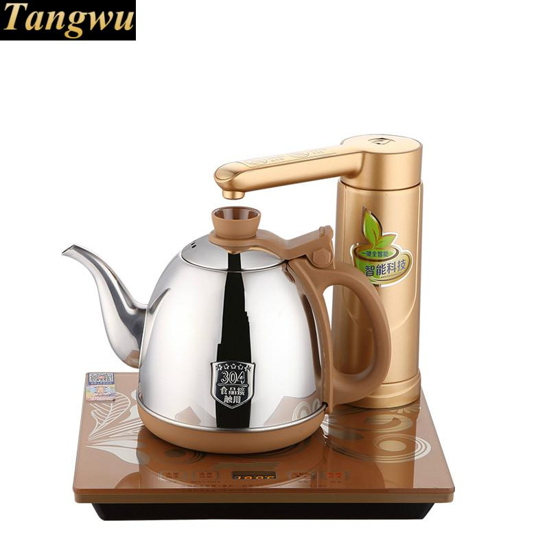 Full intelligent electric teapot automatic water heater kettle full tea stove set writing genevieve white b2 upper intermediate