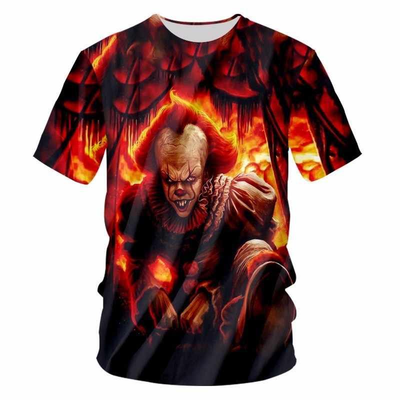 OGKB новые летние топы Мужские 3d футболки принт пламя джокер футболка Повседневная футболка Camisetas Hombre хип-хоп с коротким рукавом Футболка Homme