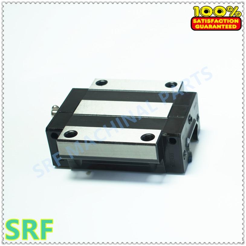 1pcs Carriage block TRH15A flange slide block for TRH15 linear guide rail linear guide for 3d printer 1pc trh15 l200mm linear rail 2pcs trh15a flange block