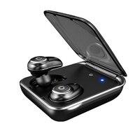 I7Plus Bluetooth Earphone true wireless ear buds IPX7 Waterproof 3D stereo headset 2000mAh power bank phone charge with mic