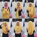 (12 pieces/lot) muslim Slips on two loops Shawl hijab head wear instant scarf amira hijab scarves JLS128