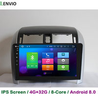 Lenvio IPS 4GB RAM 32GB ROM Android 8.0 car DVD player For Toyota Corolla 2007 2008 2009 2012 Octa Core Radio GPS navigation DAB