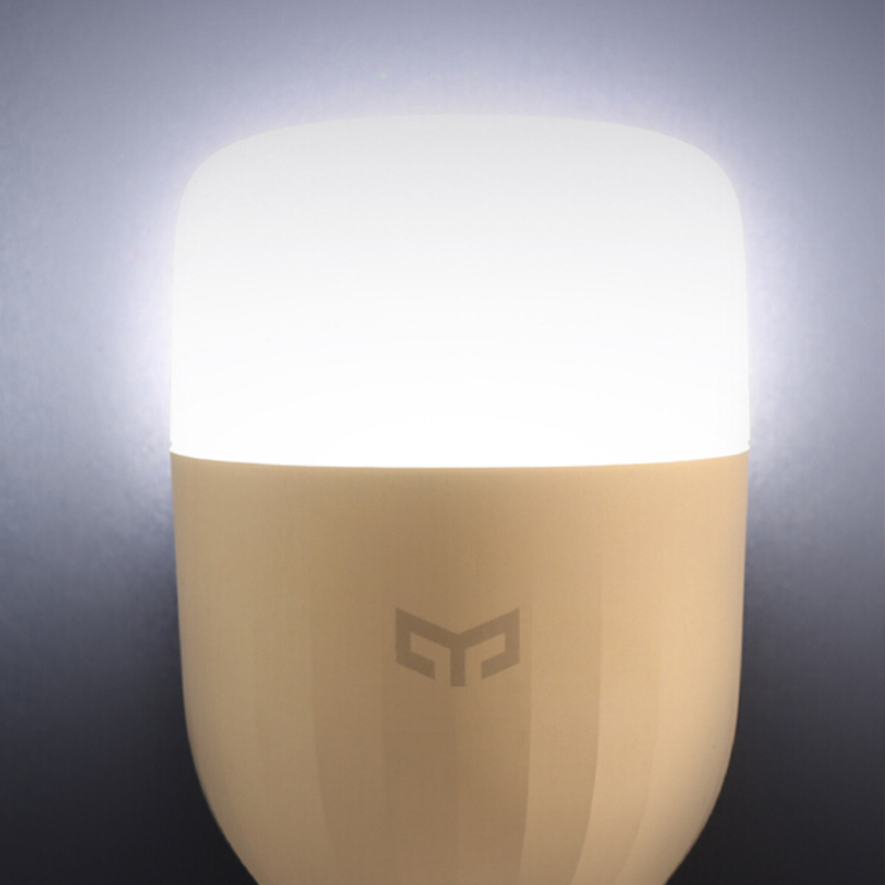 Original Xiao mi Yeelight E27 Smart LED Bulb Dimmable WiFi Control Bedside Lamp
