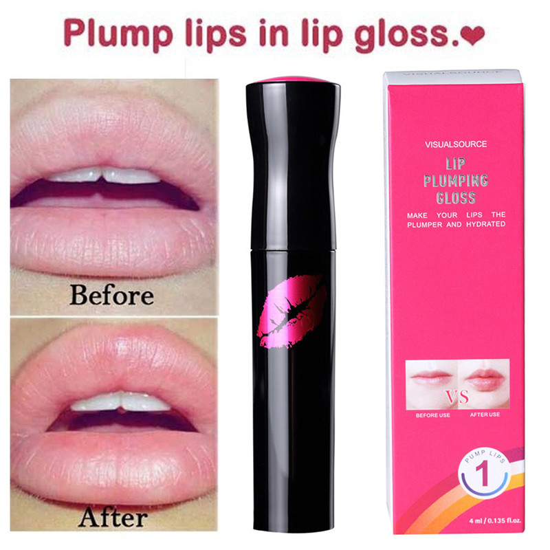 Waterproof Matte Liquid Lipstick Long-Lasting Plump Lip Gloss Cosmetics Beauty Moisturizer Lip plumper Lip Gloss #52220 2