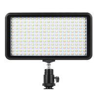 Ultra thin 3200K/6000K Dimmable Studio Video Photography LED Light Panel Lamp for Canon Nikon DSLR Camera DV Camcorder