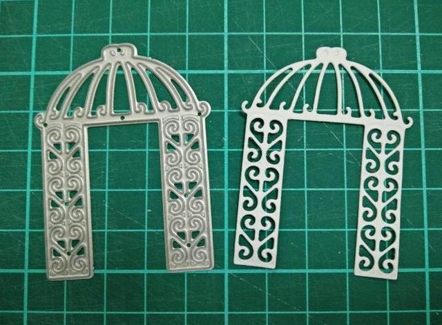 DIY Scrapbooking Papel 3D Coroa De Flores de Casamento da noiva Morre Corte Artesanato Nova Decoração de Jardim Modelo de Álbuns Morre Morre Cortador S13
