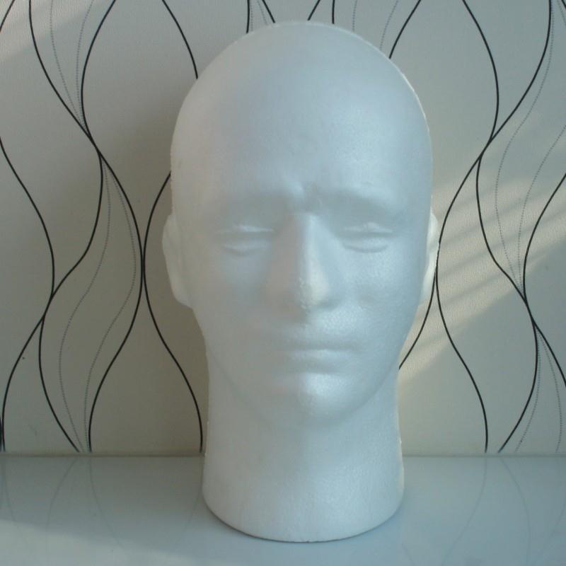 54cm Circumference Men PVC Skyltdocka Manikin Head Model för Cap Wig - Konst, hantverk och sömnad - Foto 6