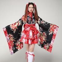 Lolita Dress Japanese Cherry Kimono Cos Clothing Anime Costume Maid Wear Japanese Kimono Traditional Kimono Traditional Japanese