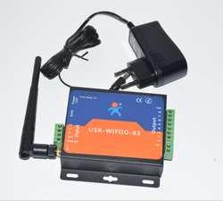 USR-WIFIIO-83 Бесплатная доставка USR Wi-Fi/LAN релейная плата, система дистанционного управления, переключатель дистанционного управления