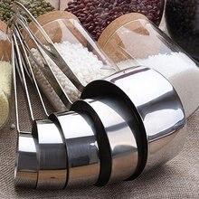 5 комплектов ложки для выпечки из нержавеющей стали, мерная ложка для выпечки чая, кофе, аксессуары, набор измерительных инструментов, Прямая поставка