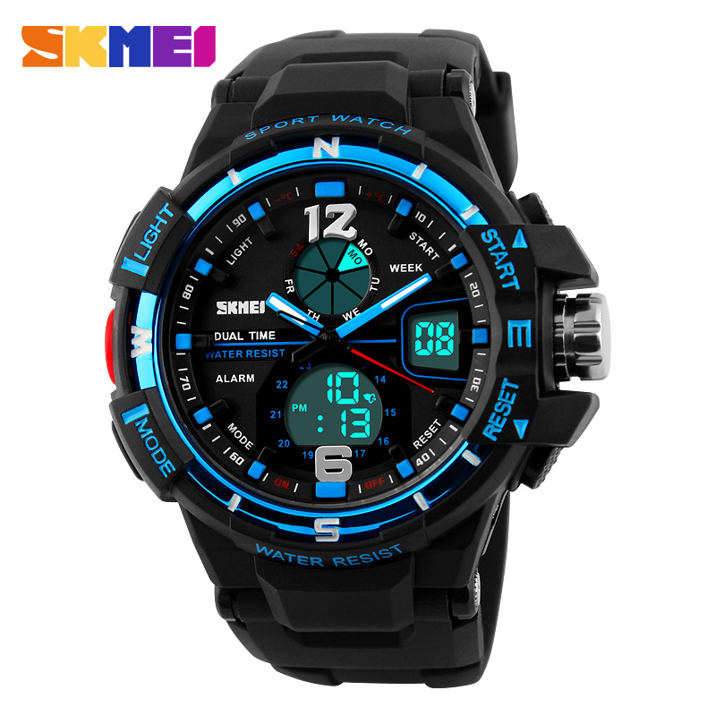 2016 New Brand SKMEI Fashion Watch Men G Style Waterproof Sports Military Watches Shock Men s