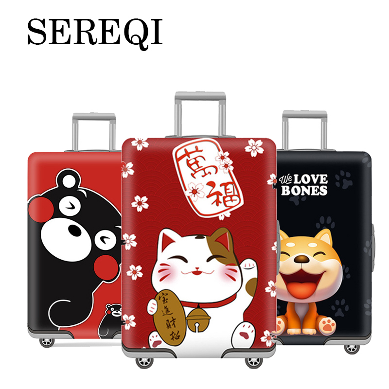 Sereqi2019 New Thick Elastic Case Protector For 18'' 32'' Luggage Dust Cover Travel Accessories Suitcase